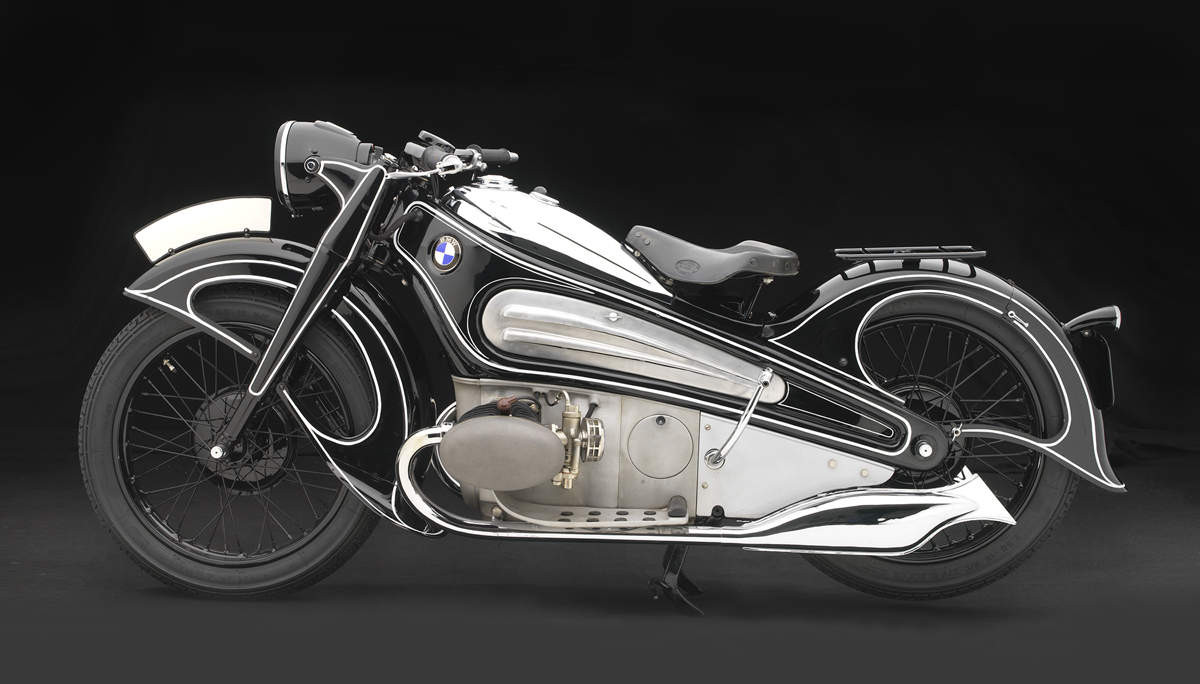BMW R7 Concept Motorcycle, 1934.