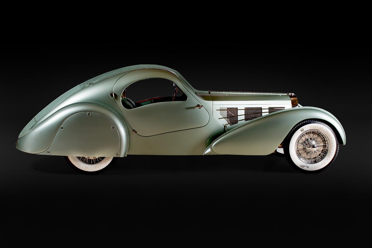 Bugatti Type 57S Aerolithe, 1935.
