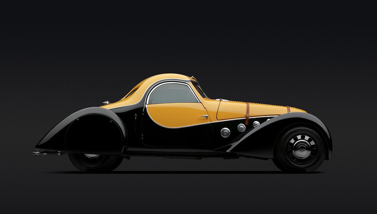 Peugeot 402 Darl'mat Coupe, 1936.