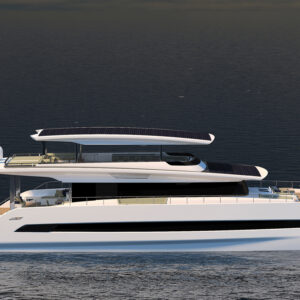 Silent 80 | Rendering courtesy of Silent Yachts